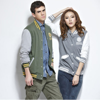 Spring 2013 women's class service baseball uniform female lovers baseball shirt sweatshirt cardigan outerwear