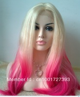 2013 Listed new bright red T color synthetic lace front wig