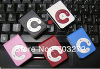 MINI clip MP3 Player with Micro TF/SD card Slot Support 1-8GB SD card 5pcs/lot free shipping