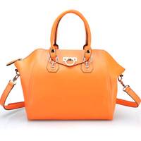 wholesale  hot selling fashion genuine leather handbag top quality solid color women's handbag fashion bags0280