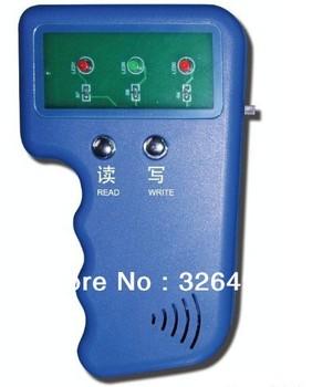 Handheld 125Khz RFID Copier Writer / Duplicator Copy ID Card+ 2pcs EM4305/T5577 Rfid Tag Free shipping