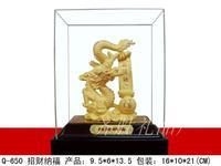 24k gold gift alluvial gold velvet new arrival lucky