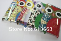 Wholesale new arrive 100pcs/lot Cute Owl Hard Case for ipod touch 4,Free Shipping
