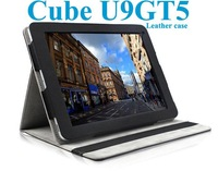 Luxury leather case for Cube U9GTV U9GT5 9.7 inch tablet pc-2 Colors