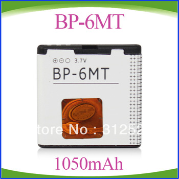 Freeshipping BP-6MT BP6MT Cell Phone Battery For 6720C E51 N81 N82 N82 8G