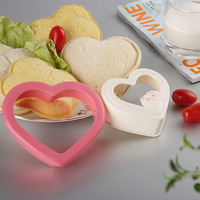 Free shipping New arrival love sandwich mould bentos mould 7 pattern