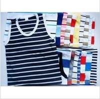 wholesale kids clothes 1 ~ 5Age boys girls t shirt kids clothes 10pcs/lot,Sleeveless vest, Free Shipping