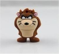 Hot ! cartoon tasmanian devil model USB 2.0 enough memory stick 16G 32G 64G 128G  P92 can exchange for other models