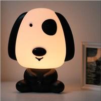 Lovely Dog Desk Lamp Cartoon Table Lamp Dog Night Light Cartoon Christmas Gifts LE12