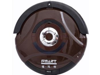 Fmart intelligent robot vacuum cleaner fm-010 Chocolate