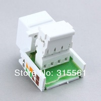 Free Shipping+Wholesales 10pcs/lot  Brand New keystone jack RJ11 JACK RJ11 6P4C jacks For telephone