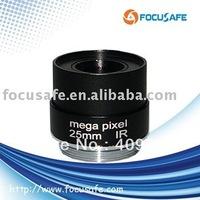 FS2516FMP Mega Pixel Fixed Iris IR Lens 25mm