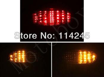 Smoke Integrated LED Tail Light For Suzuki Hayabusa GSXR1300 1999-2007 For Suzuki Katana 600/750 2003-2006  motorcycle tail lamp