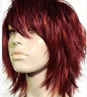 Synthetic Wig Women's short Hair Wigs high quality free ship
