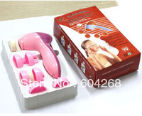 Free shipping 6 in 1 face clearner and face massager Facial Massage Beauty Instrument 5sets/Lot