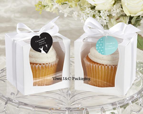 NEW DESIGN 100pcs 9x9 Single Wedding Cupcake Box with White Insert /Wedding Gift Box/ Party Favor Box (JCO-97C)(China (Mainland))