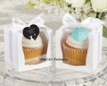 NEW DESIGN Single Wedding 9x9 Cupcake Boxes/Wedding Gift Box/ Favor Box(JCO-97C)