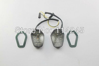 motorcycle signals Skome Flush mount LED Turn Signals For Suzuki GSXR 1000 2001 2002 2003 2004
