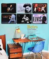 antique limation metal signs about Elvis/home decor