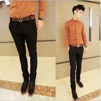 Men's clothing casual pants casual pants male trousers new arrival woolen thickening type hyper casual pants