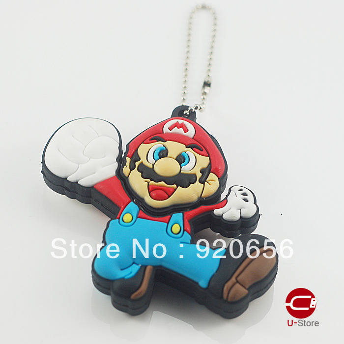 Creative and Novelty USB Disk Flash Memory made of Rubber as Classic Games Idol for Free Shipping(China (Mainland))