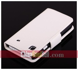For Samsung Galaxy S i9000 / Galaxy S Plus i9000 PU Leather Wallet Case Cover + free shipping(China (Mainland))