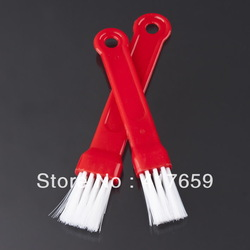 High Quality10set/lot 2pcs/set Progressive Barbecue Red Basting BBQ Brush Topper for kitchen outdoor use easy to carry out(China (Mainland))