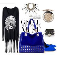 2014 New Fashion Women Shoulder Bags/Designer Faux Leather Rivet Women Handbags/Casual Women Bags