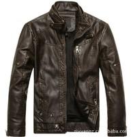 Free shipping Sell like hot cakes famous brand 2013 new fashion men genuine leather jacket coat man Motorcycle jacket coat