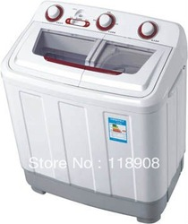 semi auto washing machine, washing machine, twin tub washing machine, factory sell directly, aliexpress(China (Mainland))
