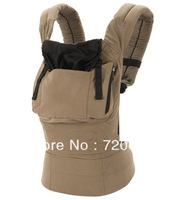 Free shipping Classic for Any Occasion-Dark Taupe Exterior with Black Lining/Hood, Original Baby Carrier- Aussie Khaki
