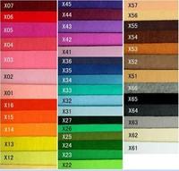 Free Shipping  New arrival, 88 colors, 1MM thick polyester felt fabric, DIY felt fabric wholesale, non-woven felt,30cm*30cm