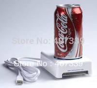 Free Shipping New Mini USB Fridge, USB Cooler and warmer, USB Gadget ,USB Refrigerator wholesale