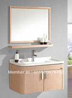 modern stainless steel bathroom cabinet vanity cabinet with free shipping