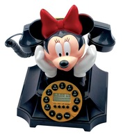 Free shipping Antique rope MICKEY limited edition caller id MICKEY MINNIE cartoon fashion home telephone