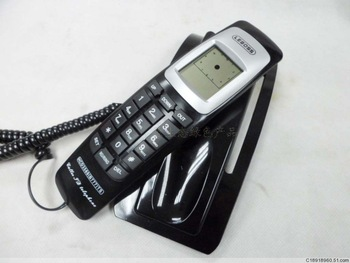 Free shipping Caller id telephone clock telephone bread machine small extension set fashion fitted