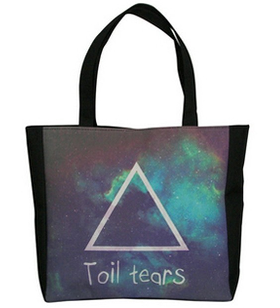 East Knitting GA-028 Fashion Toil tears handbags Women Bags 2013 Print Triangle bags Women Brand Handbags sale(China (Mainland))