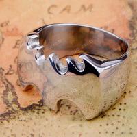 Free Shipping! 3pcs High Polish Batman Stainless Steel Cool Ring MER230
