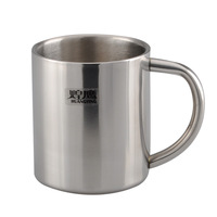 200ml Double Wall Insulated Stainless Steel Mugs Travel Coffee Beverage Cup Mug