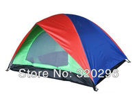 High Quality Double Layer Family Tent For 3 Persons