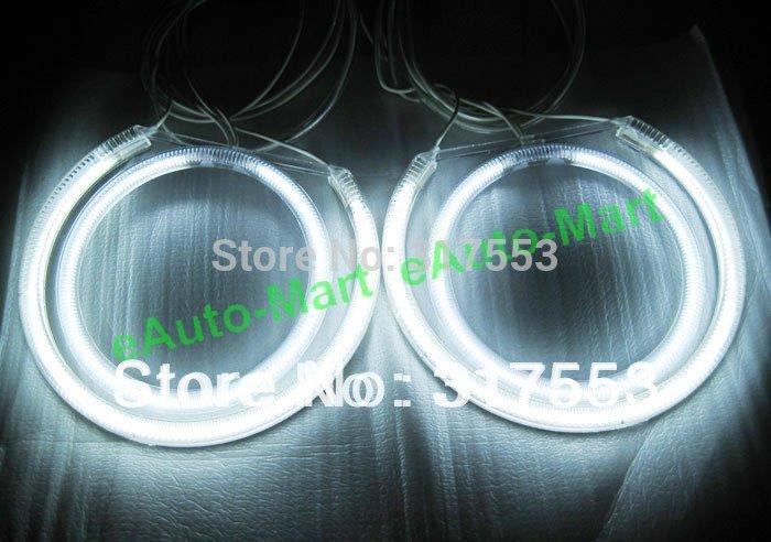 Car CCFL ANGEL EYES Halo Cut Full Ring Lights Bulbs Lights Headlight  For BMW E87 (Car With OEM Projector Headlights)(China (Mainland))