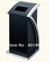 Hotel-Art style-free standing-hall waste bin-lobby rubbish bin-trash can