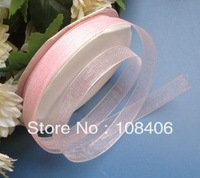 "Free Shipping! 250yards 4/5""(2cm) Organza Ribbon Bow DIY Craft Scrapbooking Gift Ribbon Wedding Favor"