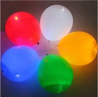 (White) High Quality Helium Inflatable  Wedding white balloons,white light balloon/light up balloon,100pcs/lot