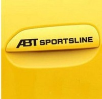 Personality reflective car stickers abt aportline door handles 5-color customize