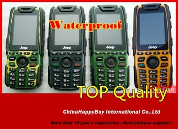 "(In Stock)New&Original Jeep X7 waterproof  2.0"" keyboard GSM dual sim dual standby simple cheap rugged outdoor mobile phone"