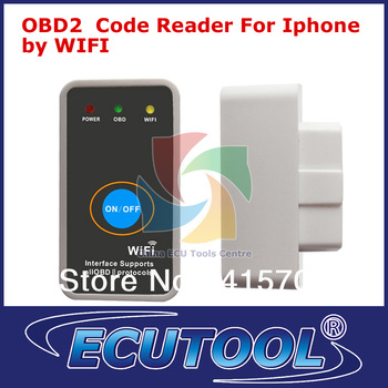 2013 NEW WIFI OBDII Code Reader OBD Scanner OBD2 Diagnose interface for iPhone+Switch Best Automotive Tool Scantool