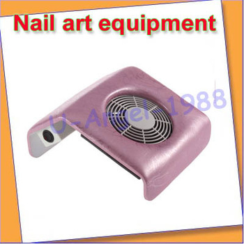 NEW 110V Nail Art Dust Suction Collector Manicure Filing Acrylic UV Gel Tip Machine+free shipping