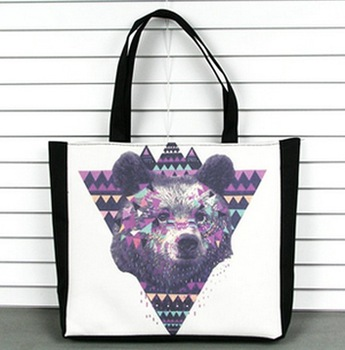 East Knitting GA-043 bag  woman Dog head print  fashion 2013 bags brand designer handbag shoppingbag bag fashion