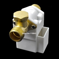 Cheapest Electric Solenoid Valve For Water Air N/C DC 12V 1/2&quot; Free Shipping TK0377(China (Mainland))
